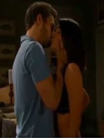 Liam kisses steffy