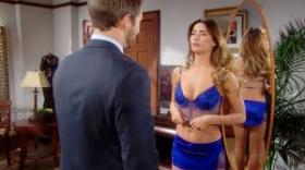 Steffy in lingerie