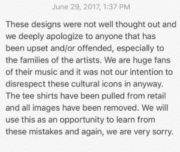 KardashJenner apology