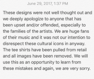 KardashJenner apology