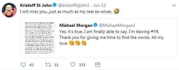 Neil Kristoff tweet shady